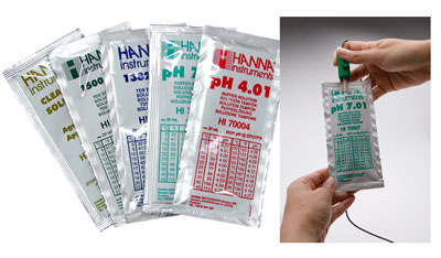 Hanna pH 4.01 Calibration Solution 20ml Sachet