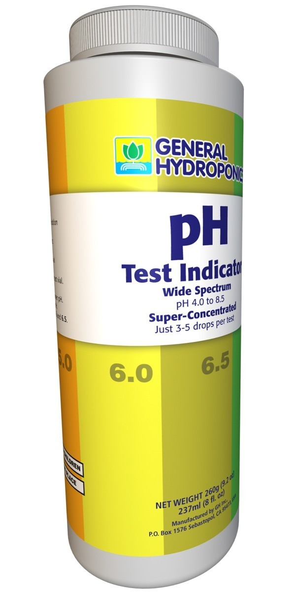 General Hydroponics pH Test Indicator, 8 oz