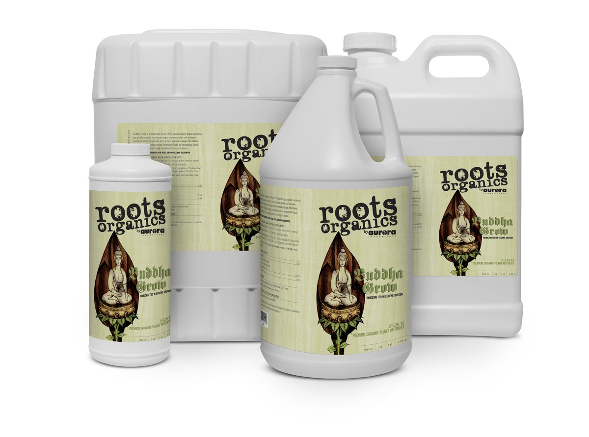 Roots Organics Buddha Grow 2 - 0.25 - 1.5 Gallon