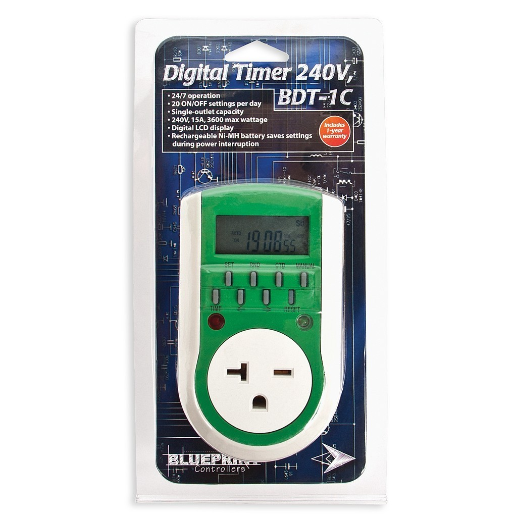 Blueprint Digital Timer 240V, BDT-1C
