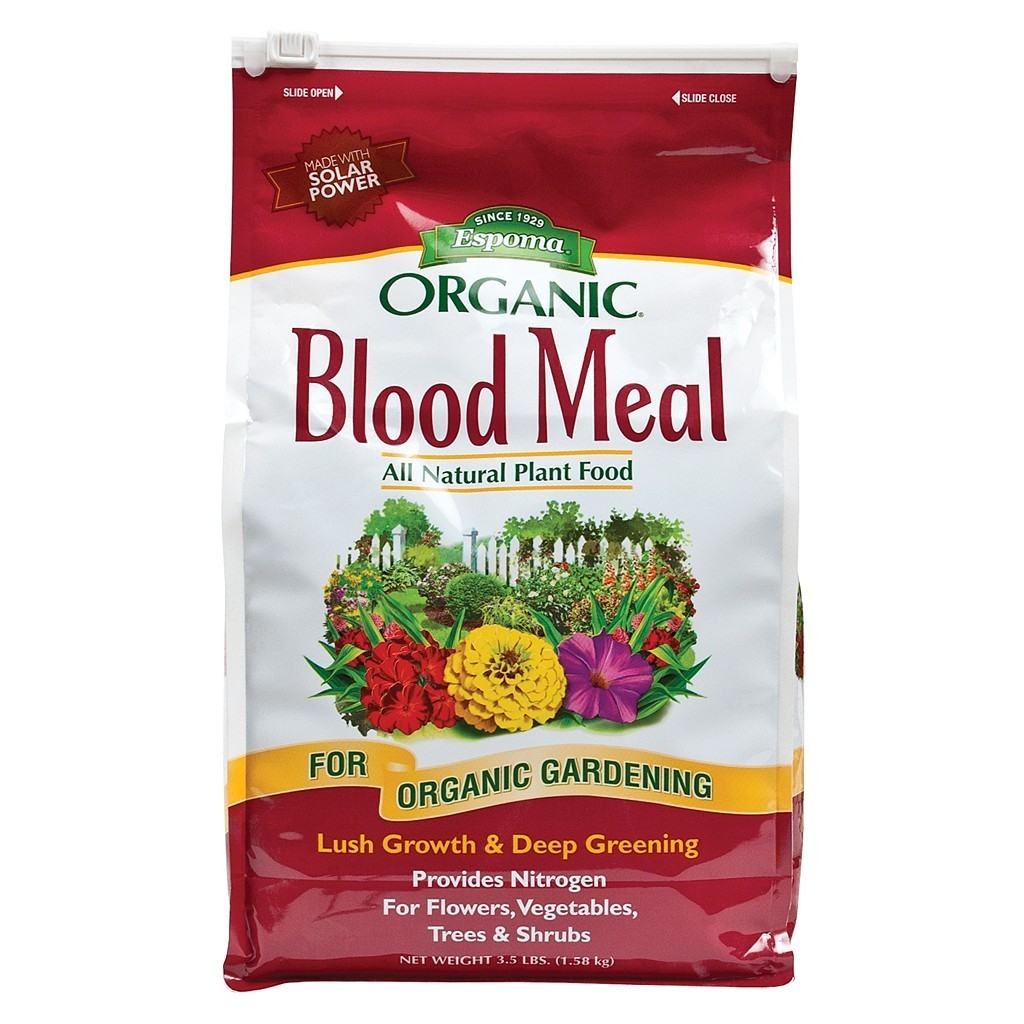 Dried Blood Meal 12-0-0 (3.5 lbs)
