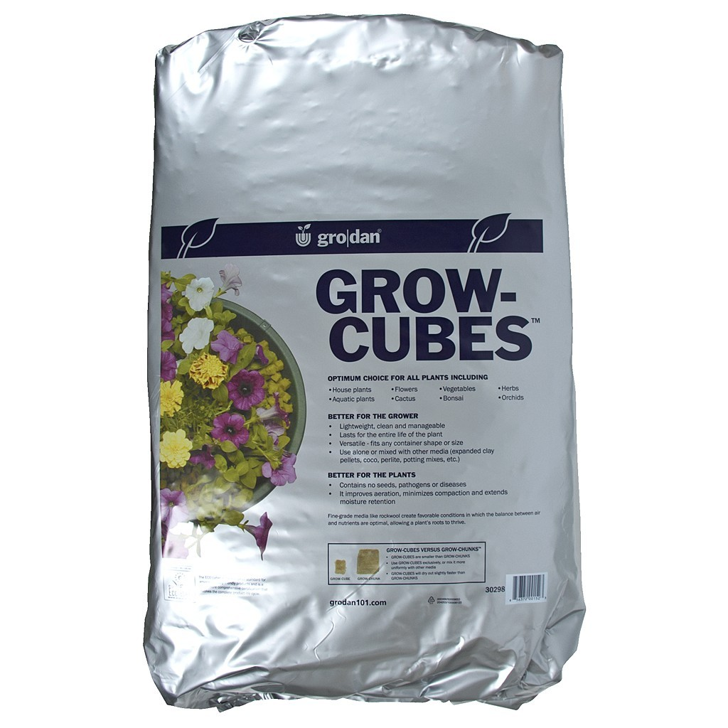 Grodan Grow-Cubes, 2 cu ft