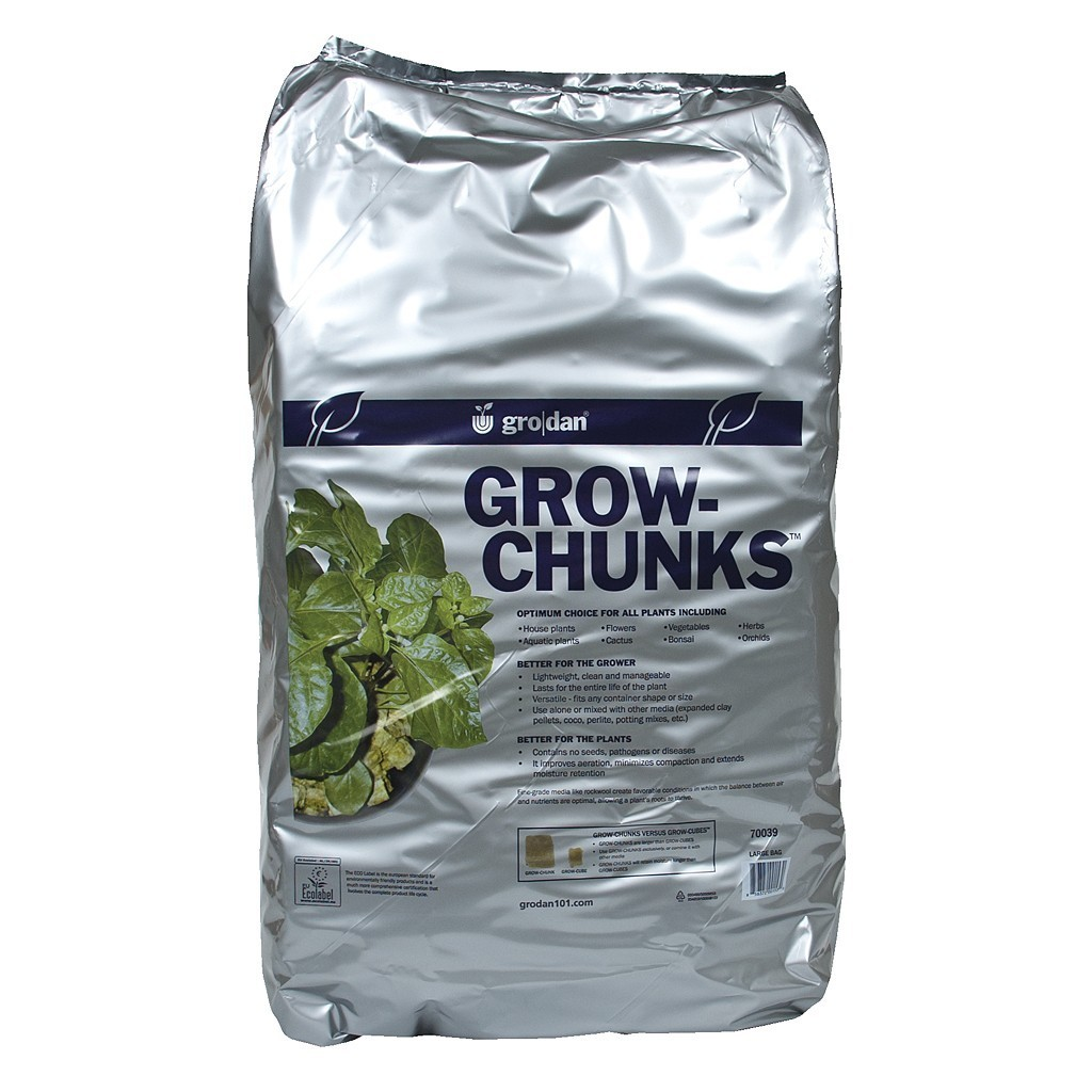 Grodan Grow-Chunks, 2 cu ft