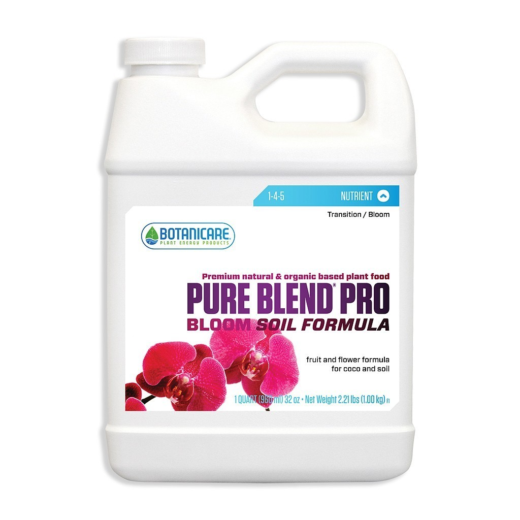Pure Blend Pro Bloom Soil Formula 1-4-5 (1 qt)
