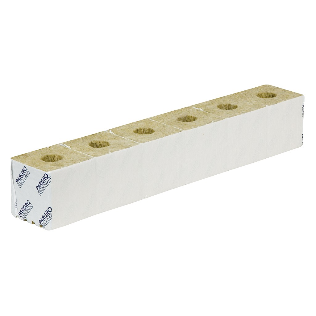 "Pargro Quick Drain 4x4x4"" (Strip of Six)"