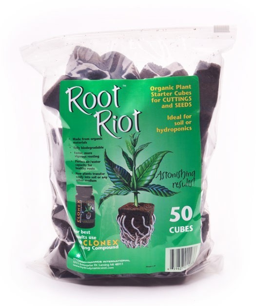 Root Riot™ Organic Plant Starter 50 Cubes