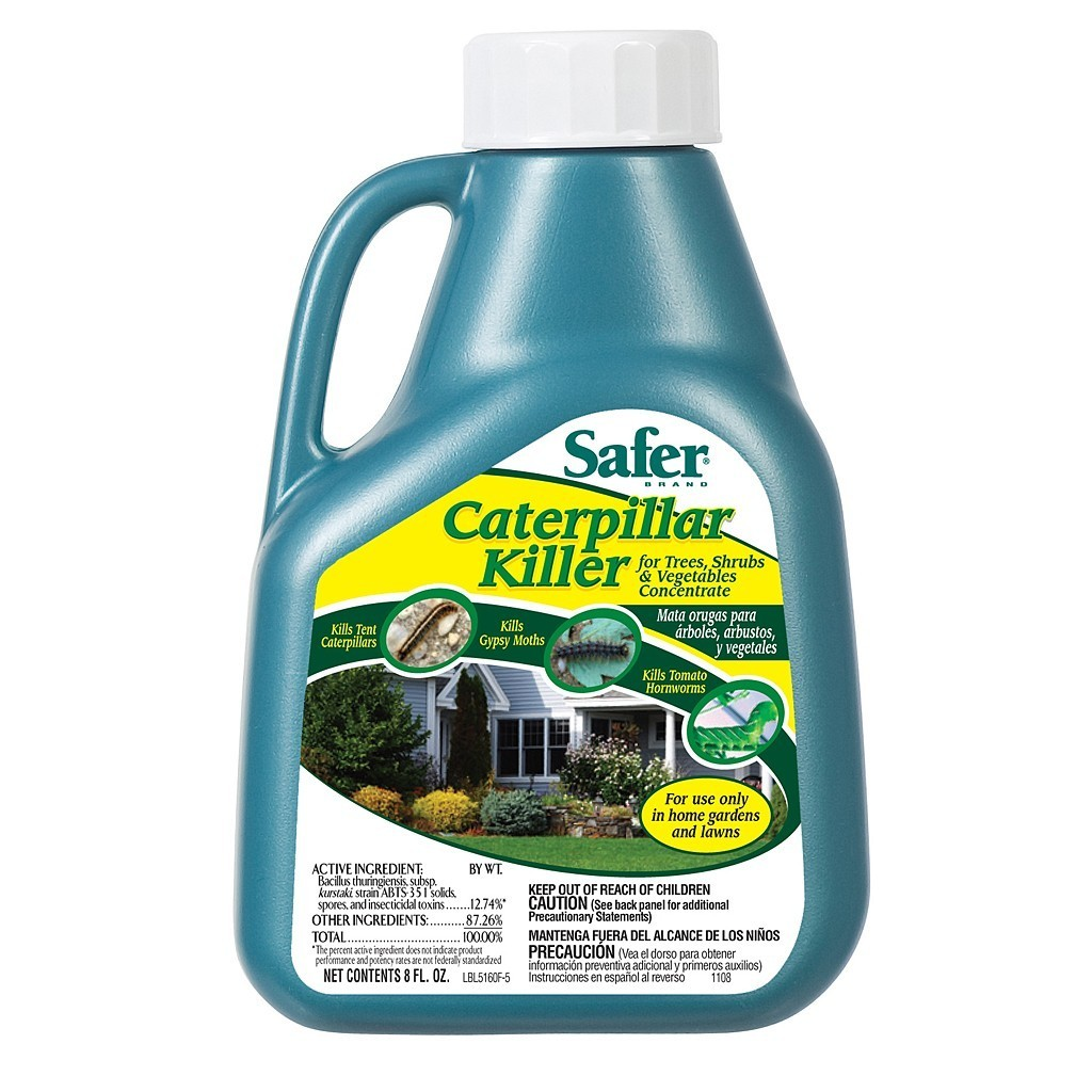 Safer Caterpillar Killer (B.T. 8oz. Concentrate)