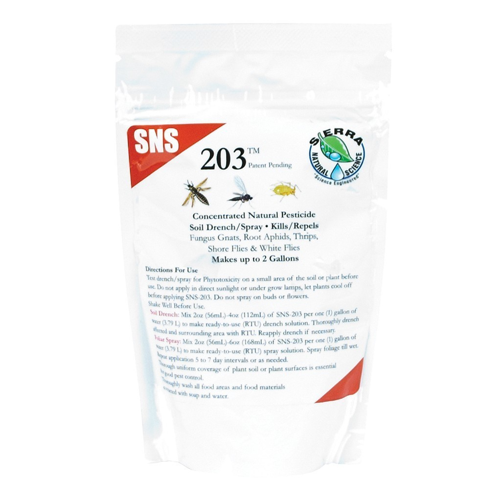 SNS 203 Pesticide Concentrate, 4 oz