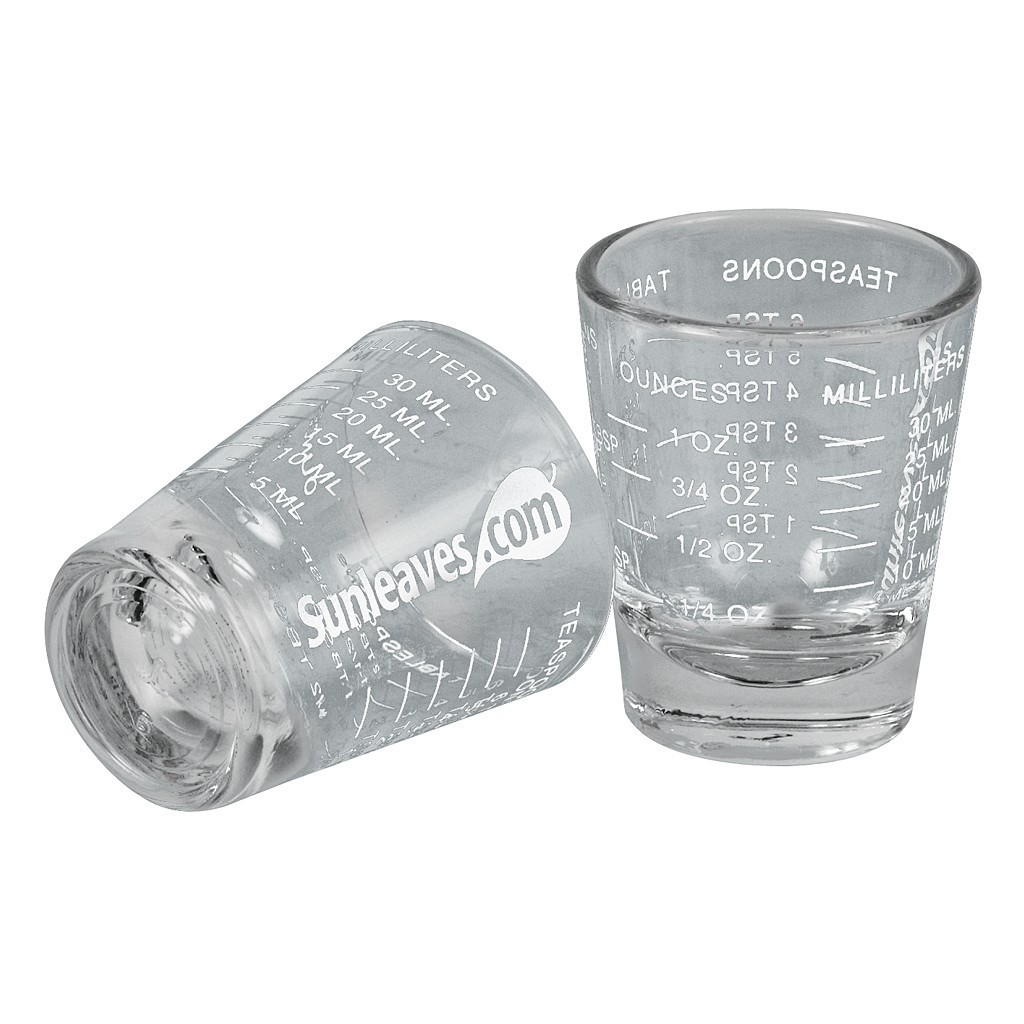 Sunleaves Shot Glass/Measuring Cup