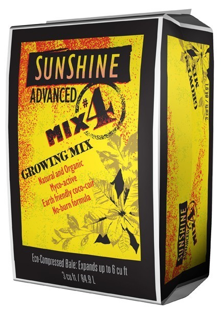 Sunshine Advanced Mix #4 3.0 cu ft