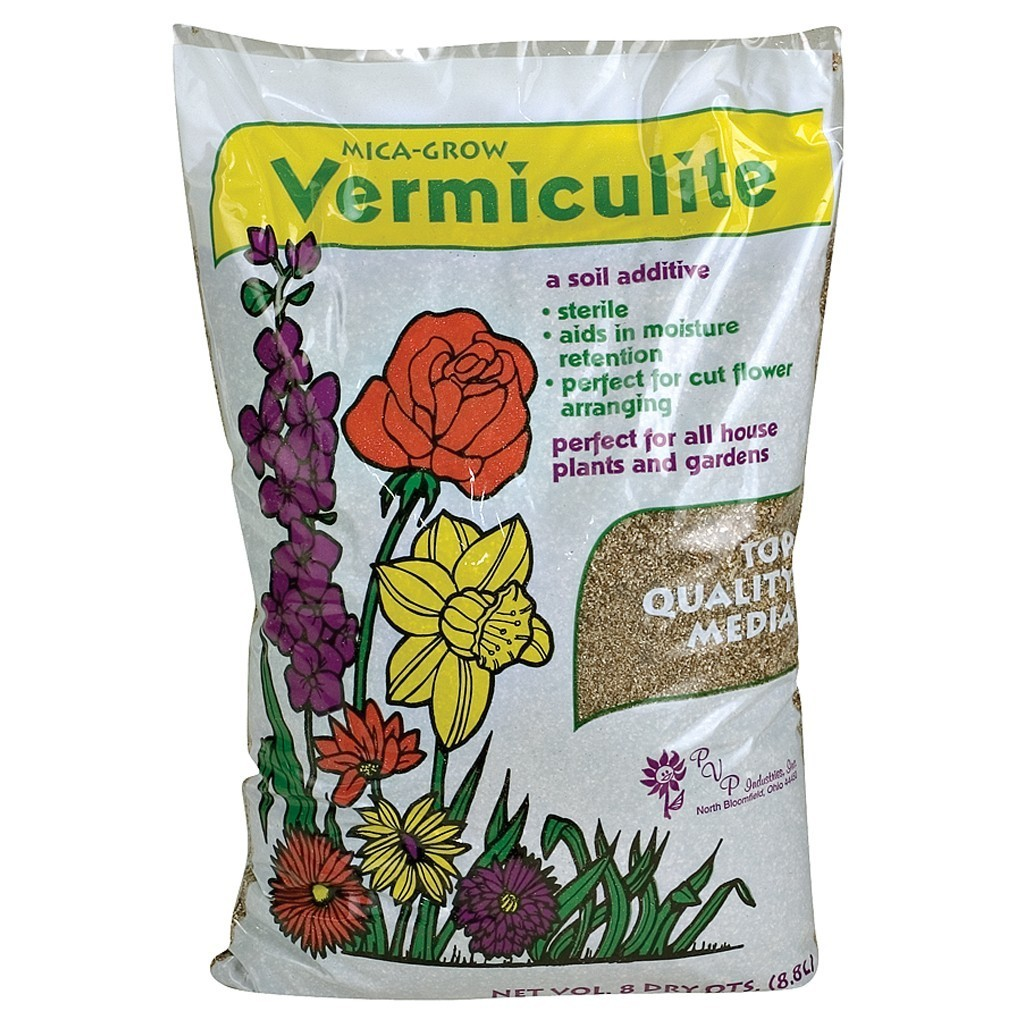 Mica-Grow Vermiculite Soil Additive, 8 qt