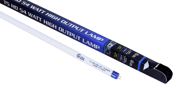 Ultra Sun T5 54 Watt HO Lamp 4 ft Blue 6500K
