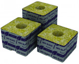 "Grodan Rockwool 4"" x 4"" x 4"" Cubes (strip of 6)"