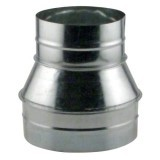 Ideal-Air Duct Reducer 8 in - 6 in