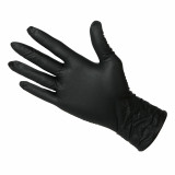 Nitrile Black Gloves 6 ml Large