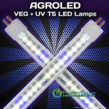 Agro LED T5 Veg plus UV 4 ft
