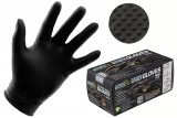 Nitrile Black Gloves 6 ml Medium