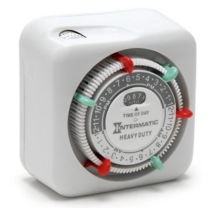 Intermatic Heavy Duty Analog Timer (3 on/off Settings)