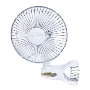 Air King 2 Speed Clip Fan 6""